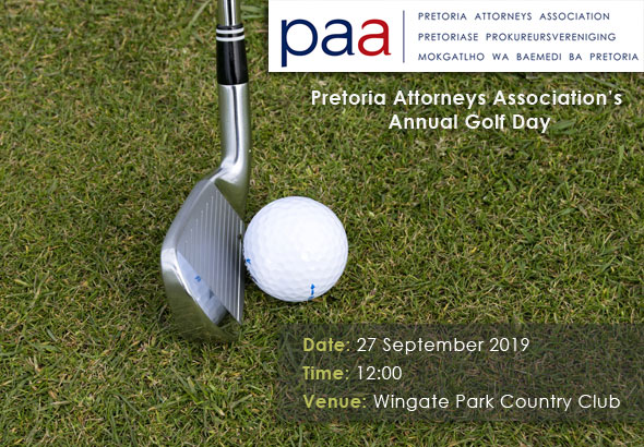 Pretoria Attorneys Association Annual Golf Day